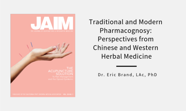 Traditional and Modern Pharmacognosy: Perspectives from Chinese and Western Herbal Medicine