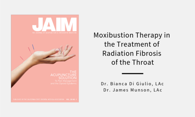 Moxibustion Therapy in the Treatment of Radiation Fibrosis of the Throat