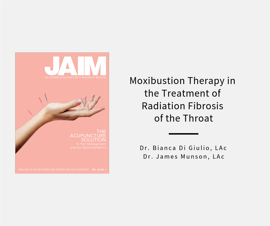 Moxibustion Therapy in the Treatment of Radiation Fibrosis